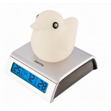 Термометр-часы с будильником Switel BC150