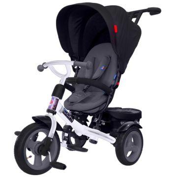 """Трехколесный велосипед RT Icon Elite New Stroller с надувными колесами 11"""" и 9"""" (onyx)"""