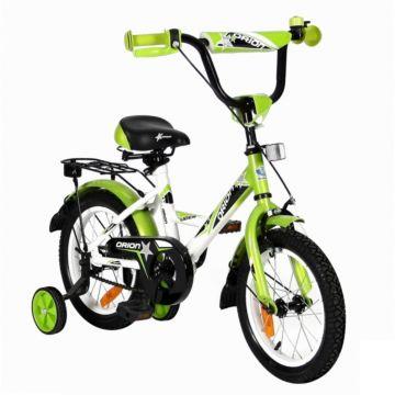 "Детский велосипед Velolider Orion 14"" Белый/Зеленый"