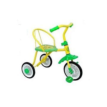 Трехколесный велосипед Moby Kids Дино (Желтый)