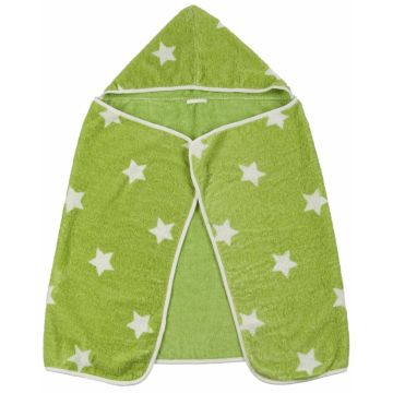 Полотенце Happy Baby Fluffy с капюшоном (Зеленый)