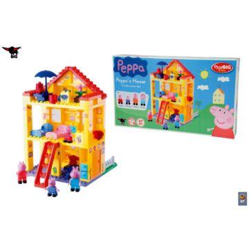 Конструктор Big Peppa Pig Любимый дом 107 деталей