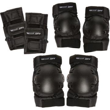Комплект защиты 3 в 1 MaxCity Classic (черный)