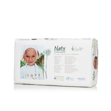 Подгузники Naty 4 (7-18 кг) 46 шт