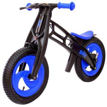 Беговел Hobby Bike FLY A (шины - елочка) (синий/черный)