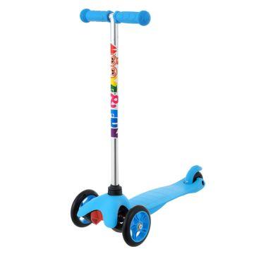 Самокат Moove&Fun Mini (голубой)