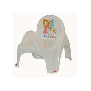 Горшок-стульчик Tega Baby Маленькая принцесса