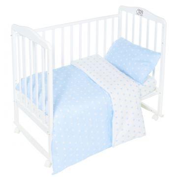 Комплект постельного белья Sweet Baby Stelle Blu (3 предмета, бязь)