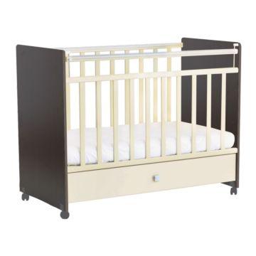 Кроватка детская Фея 700 (Венге-бежевый)