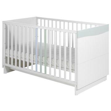 Кроватка детская Geuther Wave (белый/пастель)