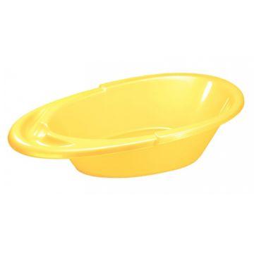 Детская ванночка Бытпласт Пластишка Счастливый малыш (Жёлтый)