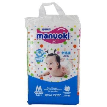 Подгузники-трусики Manuoki М (6-11 кг) 44 шт