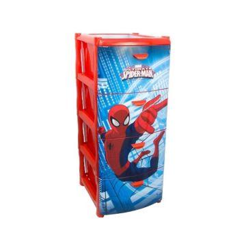 Детский комод IDEA (М-Пластика) Герои (Человек-паук)