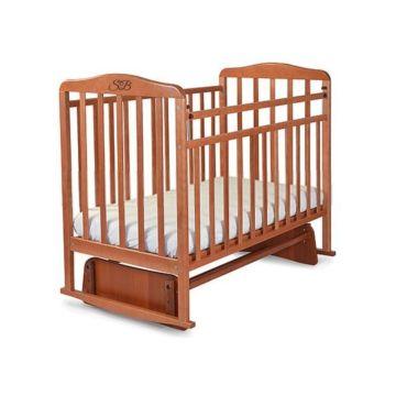 Кроватка детская Sweet Baby Ennio (поперечный маятник) Noce
