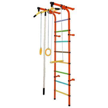 Детский спортивный комплекс Формула Здоровья Непоседа-1В Плюс (оранжевый)