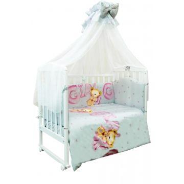 Комплект постельного белья Sweet Baby Orso Rosa (7 предметов, сатин)