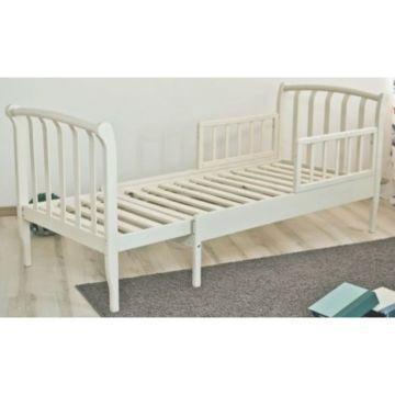 Кроватка-трансформер Можга Савелий С823 раздвижная с барьером (белый)