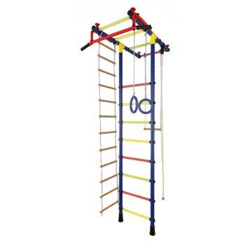 Детский спортивный комплекс Маугли 02 (синий)