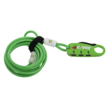 Велозамок Crops SPD 07 - Q4 (зеленый)