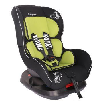 Автокресло Baby Care BC-303 Люкс Зебрик (зеленый)