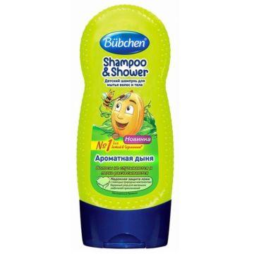 Шампунь для мытья волос и тела Bubchen Ароматная дыня 230 мл