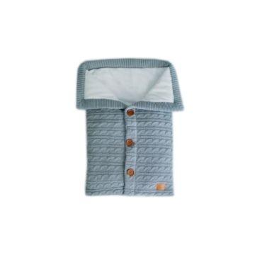 Конверт для новорожденного Loom Classic (серый)