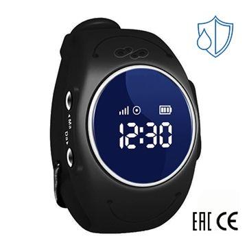 Детские часы с GPS-трекером SmartBabyWatch W8 (черные)