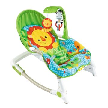 Шезлонг Fitch Baby Newborn-To-Toddler (зеленый)