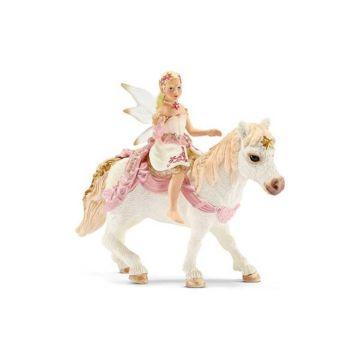 Набор фигурок Эльф Нежная Лилия верхом на пони Schleich
