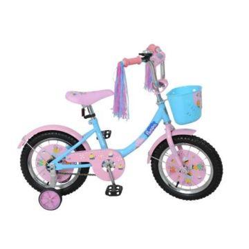 """Детский велосипед Navigator Kite 14"""" Пеппа (голубой)"""