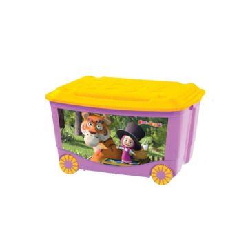 Корзина для игрушек Бытпласт 3 (Фиолетовый)