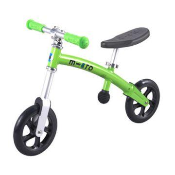 Беговел Micro G-Bike+ light (зеленый)