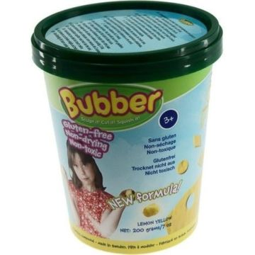 Кинетический песок Bubber Bucket-Yellow