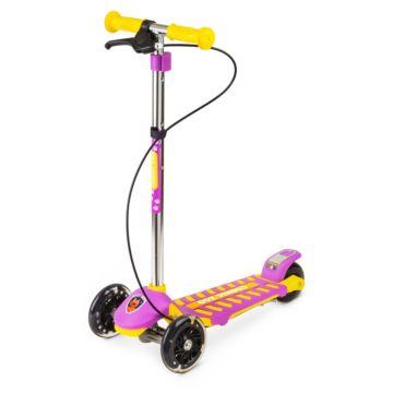 Самокат Small Rider Cosmic Zoo Galaxy Maxi со светящимися колесами+Чехол-органайзер (Розовый)