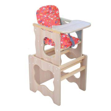 Стул-стол для кормления Мега Дом Фунтик (красный)