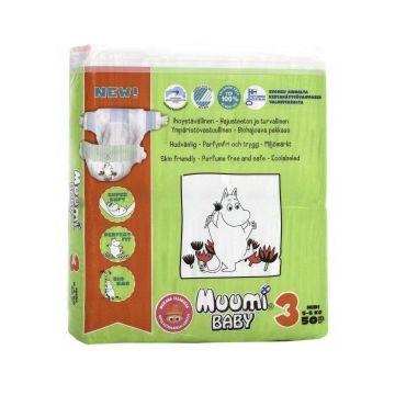Подгузники MiniMax Muumi Baby Midi (5-8 кг) 50 шт.