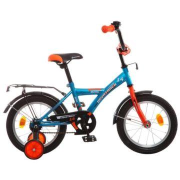 """Детский велосипед Novatrack Astra 14"""" (2016) синий"""