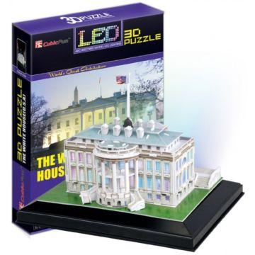 Игрушка CubicFun Белый Дом c иллюминацией (США)