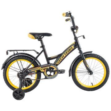 """Детский велосипед TechTeam 135 16"""" 2018 (черный)"""