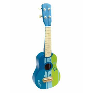 Развивающая игрушка музыкальная Hape Гитара (Синий)