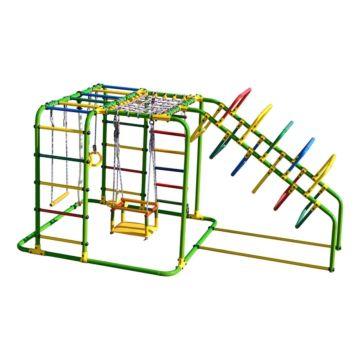 Детский спортивный комплекс Формула Здоровья Счастливчик X Плюс (зеленый)