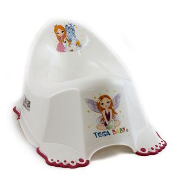 Горшок антискользящий Tega Baby Маленькая принцесса
