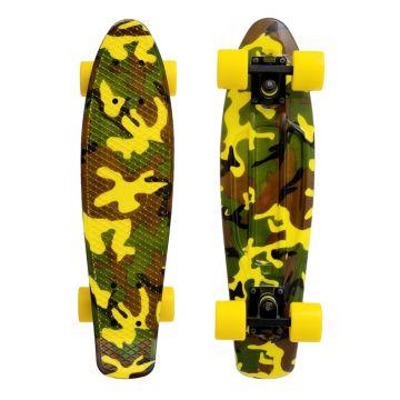 "Мини-круизер Fish Skateboards 22"" Print Military"