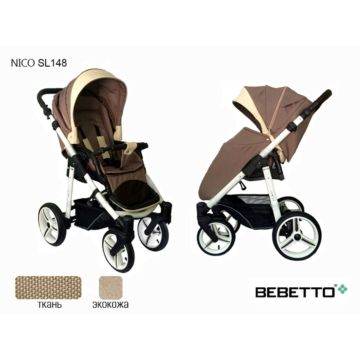 Коляска прогулочная Bebetto Nico SL148