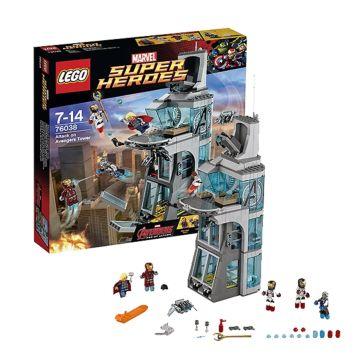 Конструктор Lego Super Heroes 76038 Супер Герои Нападение на башню Мстителей