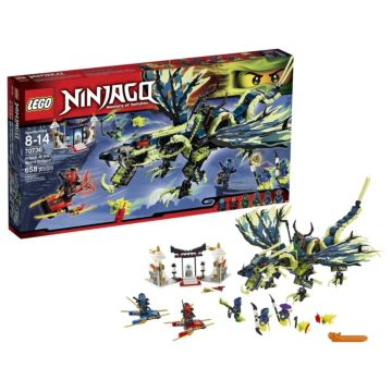 Конструктор Lego Ninjago 70736 Ниндзяго Атака Дракона Морро