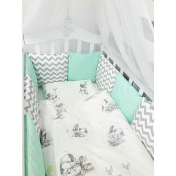 Комплект постельного белья by Twinz (17 предметов, хлопок) (зайка)