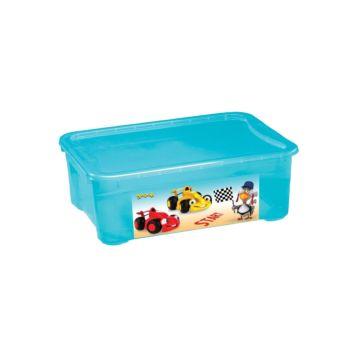 Корзина для игрушек Бытпласт Пластишка (Голубой)