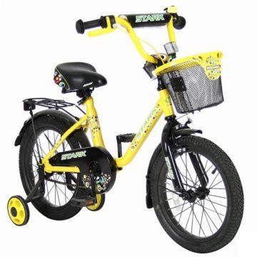 """Детский велосипед Velolider Stark 16"""" Желтый /Черный"""