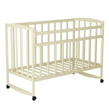 Кроватка детская ВДК Magico-Mini 2 (качалка-колесо) (слоновая кость)